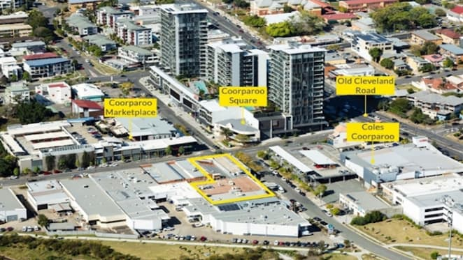 Coorparoo development site hits the market