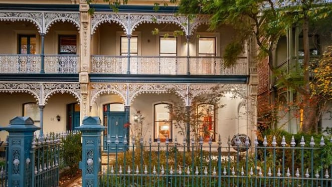 Modern Albert Park home with classical Victorian facade for sale