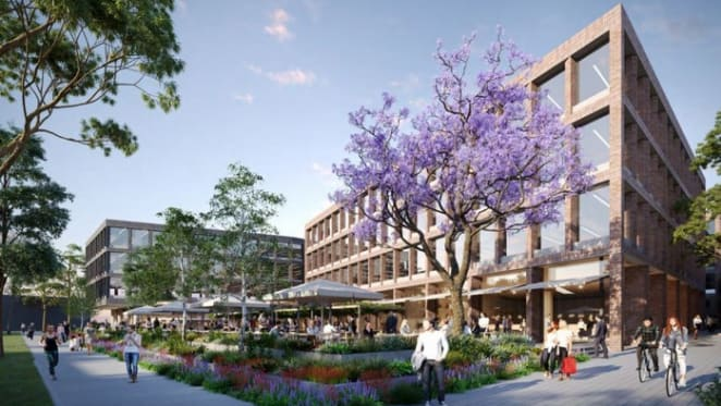 Bourke & Bowden DA lodged for $55 million Alexandria office building