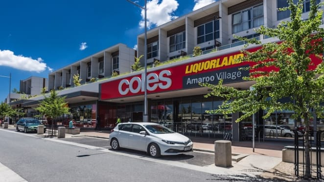 Coles sells Amaroo Village Shopping in ACT for $29.5 million
