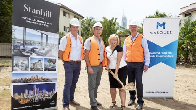 Construction commences on Chevron Island project Stanhill