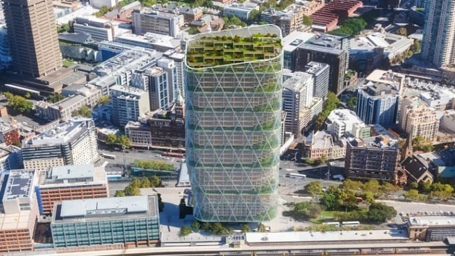 Atlassian plans to build world's tallest commercial hybrid timber tower