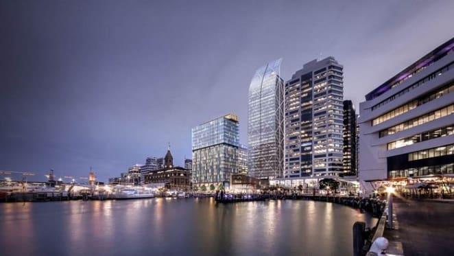 InterContinental Auckland to anchor Commercial Bay development