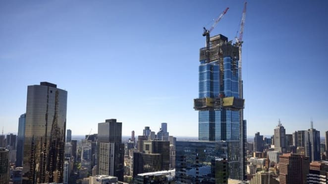 Australia's tallest residential tower, Australia 108 has completed its landmark Starburst facade