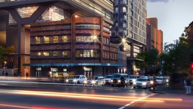 Solotel buys historic The Australian Hotel at Sydney's Central Park