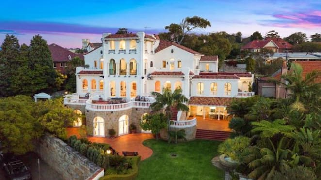 Bellevue Hill trophy home Alcooringa for sale