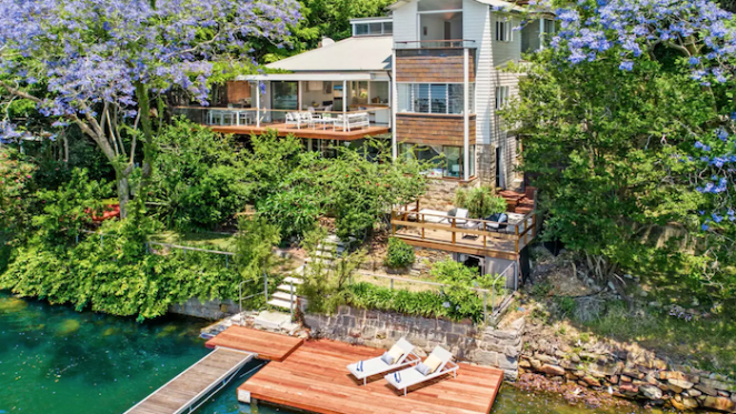 Cate Blanchett sells Berowra Waters trophy home accessible only by boat