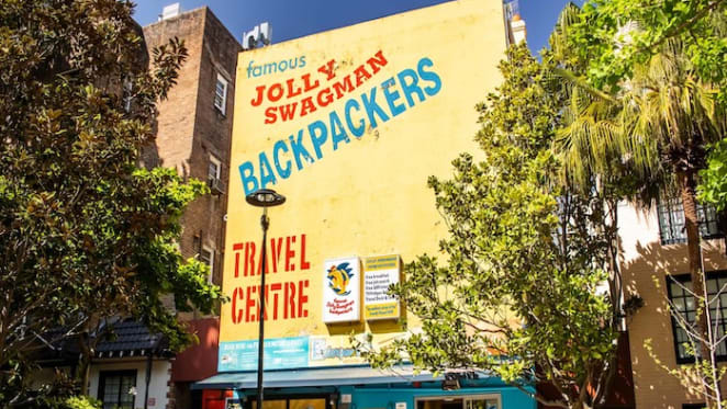 Jolly Swagman Backpackers Hostel in Potts Point listed