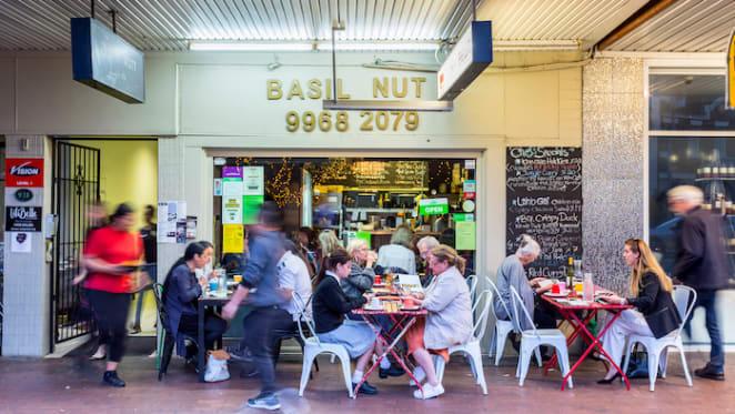 Mosman's Basil Nut restaurant premises set for auction