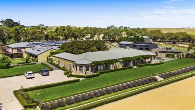 Olympian May Hanna lists Bellarine home and equestrian centre
