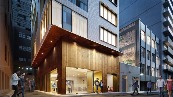 New hotel set to jazz-up Melbourne's Bennetts Lane