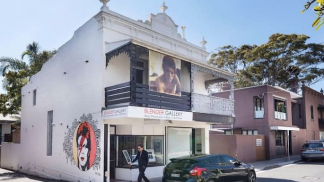 Elizabeth Street Paddington gallery with David Bowie mural sold