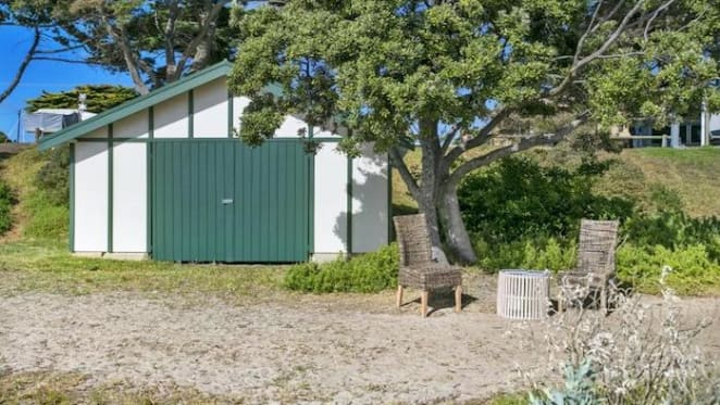 Beachfront Indented Head boat shed sold for $116,000