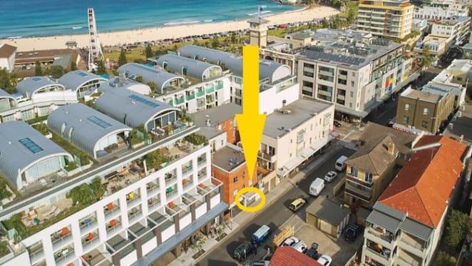 Retail asset near Bondi Beach listed for auction