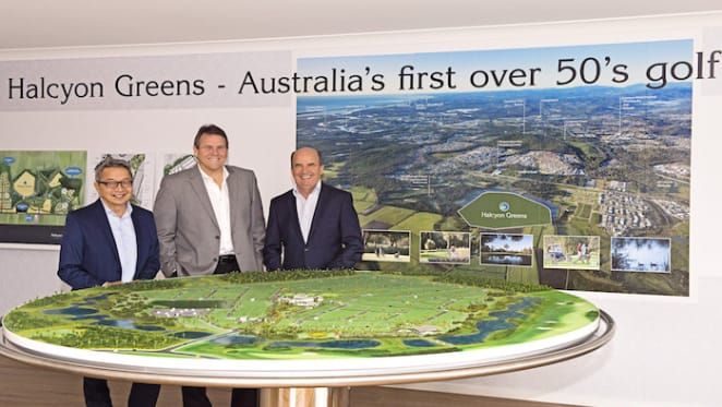 Masterplanning expert shapes Halcyon Greens