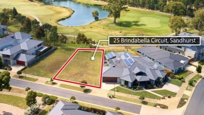 Mortgagee sells Sandhurst land parcel fronting golf course