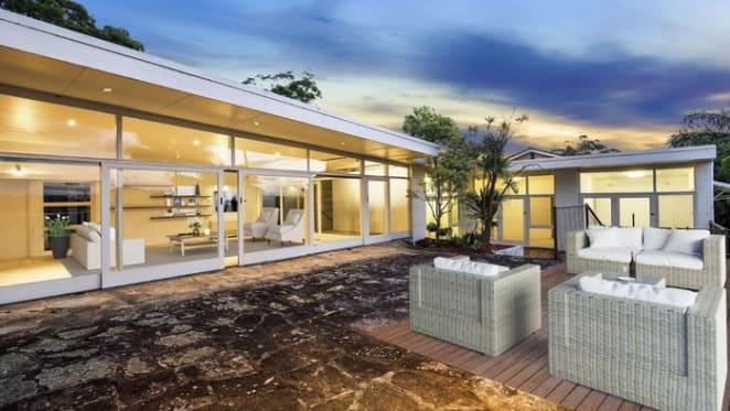 Kerr Neilson buys mid century modern Brindley House in Castlecrag