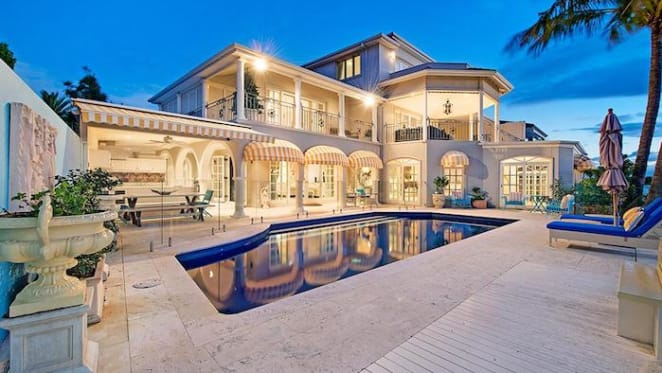 Three level Sovereign Islands house listed