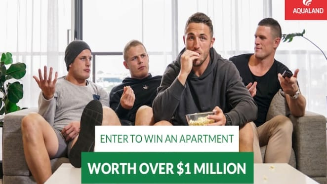 Aqualand in $1 million Milsons Point apartment giveaway at Rabbitohs game