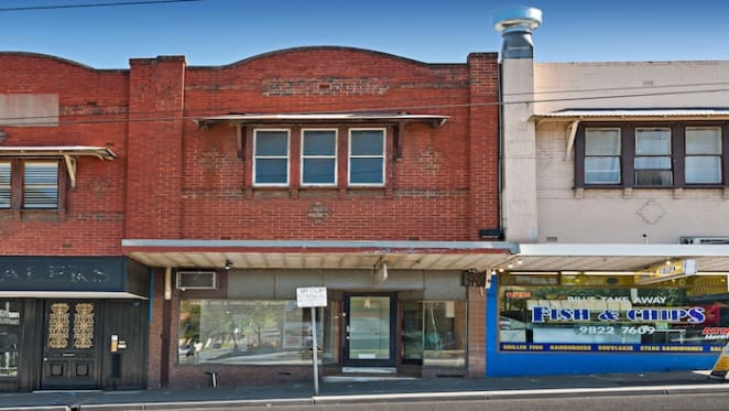 Shop and home in Melbourne's Camberwell fetches $1.3 million at auction