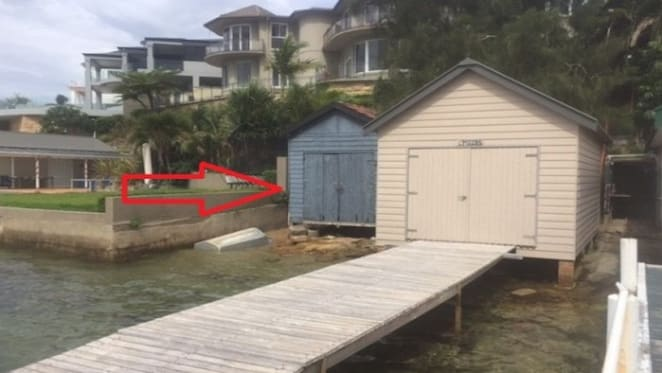 Waterfront boat shed in Sydney's Burraneer listed for $350,000