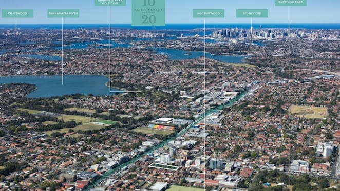 Seven homeowners to put their sites on the market in Sydney's Burwood for $40 million
