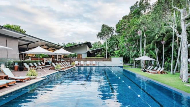 Retail billionaire Gerry Harvey lists The Byron at Byron Resort and Spa with $50 million hopes