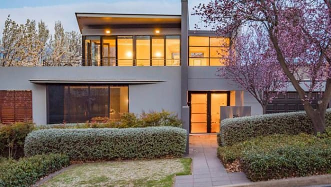 Collins Caddaye-designed Red Hill trophy home Canberra's top weekend sale