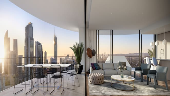 Chevron Island's first high rise launched
