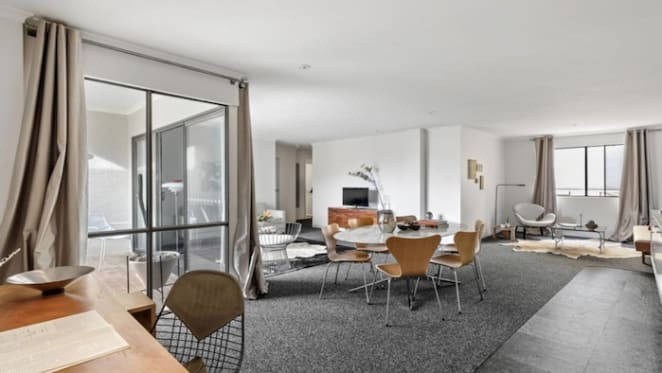 Architect couple list Chippendale apartment