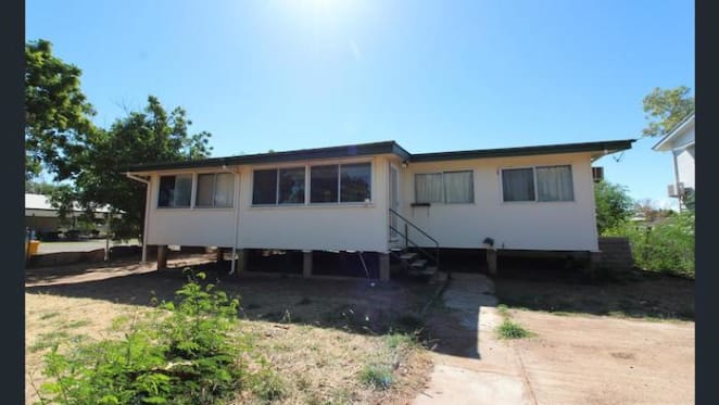 Half price $135,000 Cloncurry house listed by mortgagee