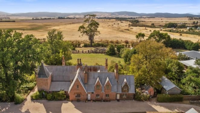 Heritage-listed country home The Grange in Tasmania's Campbell Town listed
