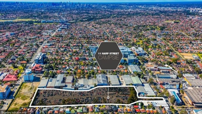Infill site with prospects for apartments in Sydney's Campsie listed