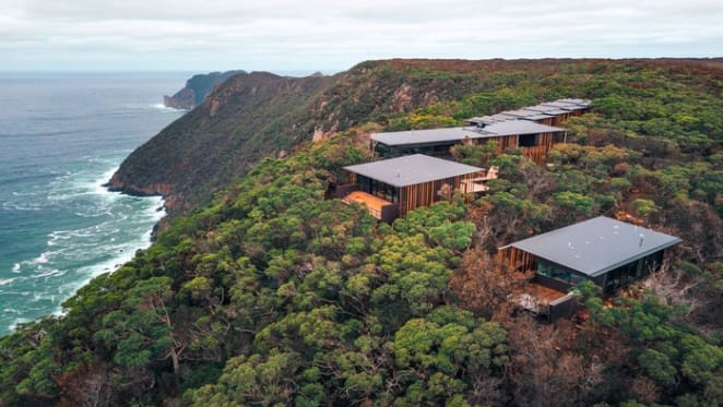 Australia's most sustainable lodges open - Three Capes Lodge Walk
