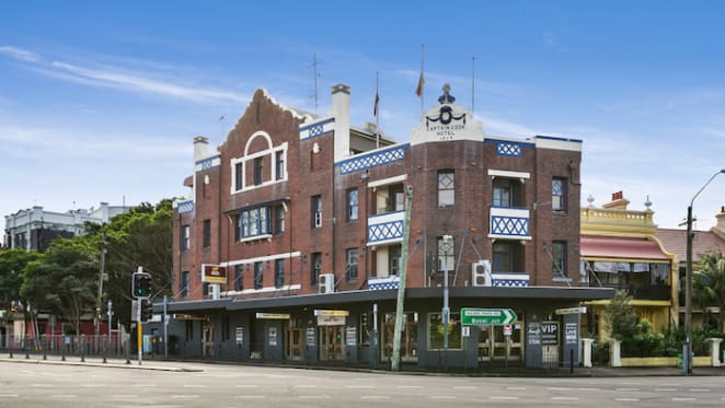 Paddington's Captain Cook Hotel leasehold listed