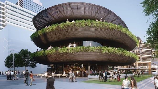 Barangaroo's bird nest building listed at $35 million