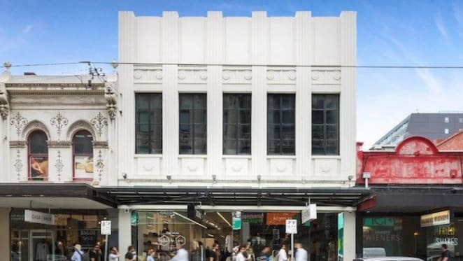 Tenanted building in Melbourne's Chapel Street set for auction