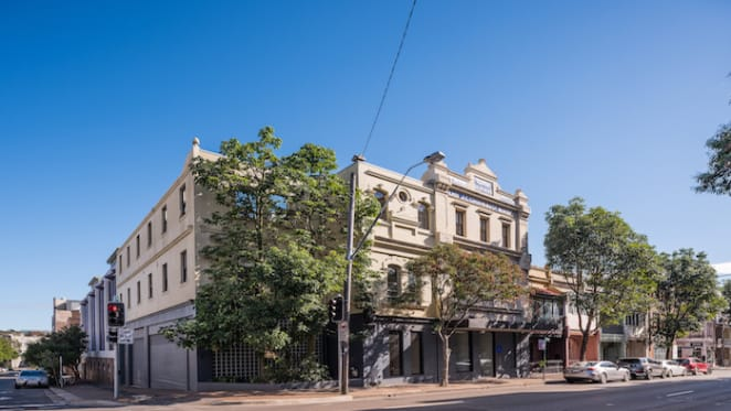 Period warehouse in Sydney's Chippendale up for auction