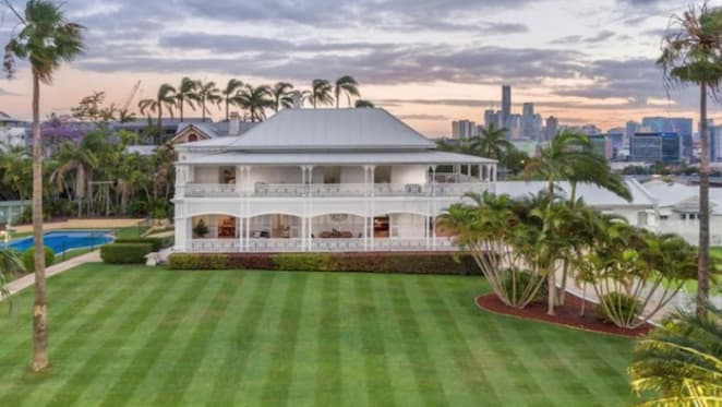 Brisbane's 1860s trophy home Cintra listed for sale