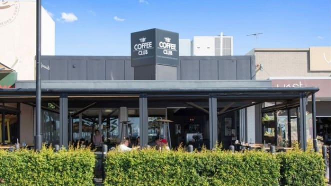The Coffee Club in Redcliffe, Brisbane sold at a net yield of 5.88 per cent