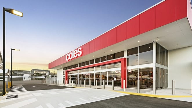New freestanding Coles in Yarrabilba listed for sale