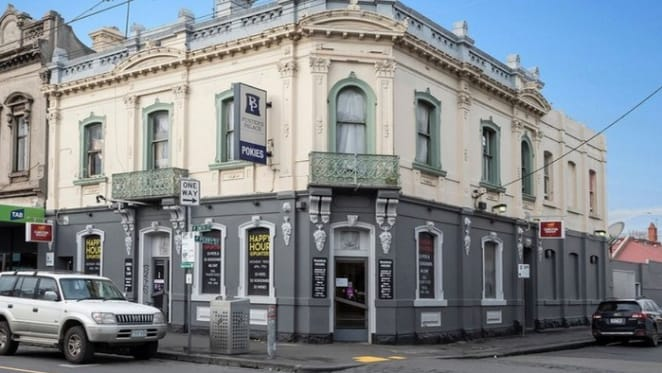 Collingwood's Punter's Palace Hotel for sale