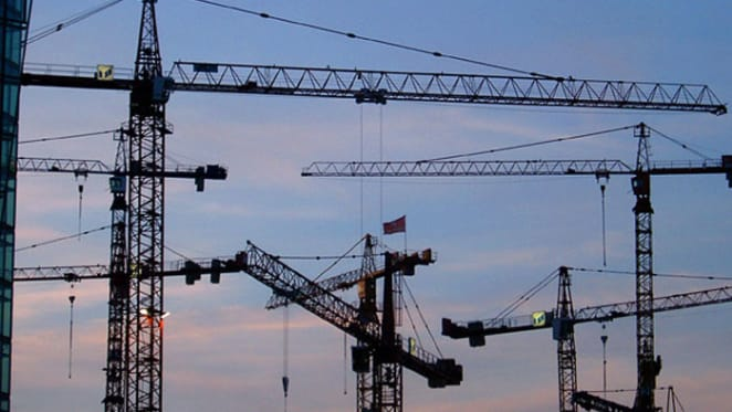 Crane-spotting: a way to tell which Australian cities are growing and where