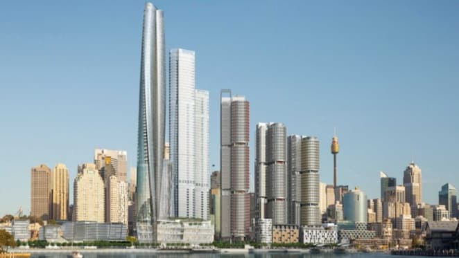 James Packer looks to market luxury 'sky homes' in Barangaroo to foreigners