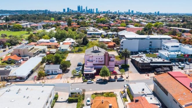 Art Deco Perth cinema for sale for first time