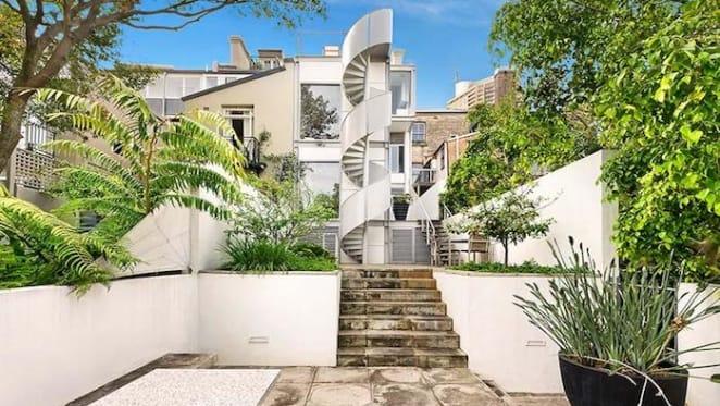 Ian Moore's univeristy days Darlinghurst terrace commission for sale