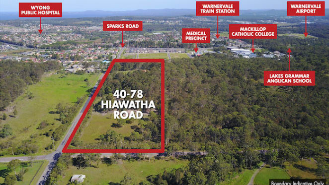 Warnervale development site sold for $6.4 million