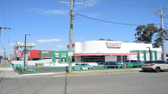 Krispy Kreme lease Fawkner drive-through location