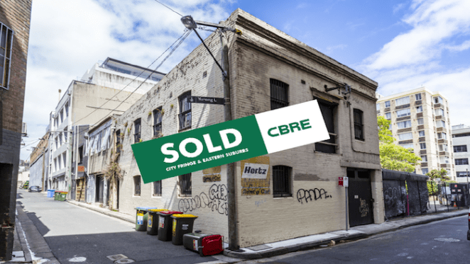 Tenanted property in Sydney's Darlinghurst sells under the hammer