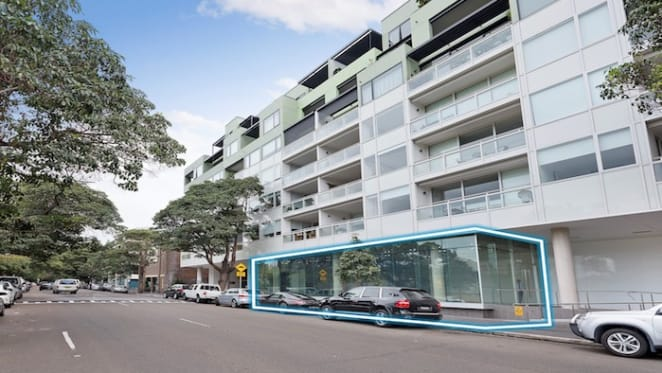 Darlinghurst shop with good exposure up for auction with $3 million hopes